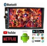 Central Multimídia Android Com Espelhamento Tv Gps Wifi - First option