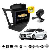 Central Multimidia Android Cruze  Modelo LT - TV Gps Camera Re BT  USB Camera - X3automotive