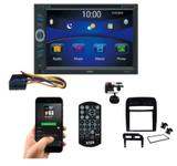 Central Multimídia Bluetooth Usb Fiat Punto Moldura Black P - E-tech