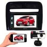 Central Multimidia Bt Fiat Punto + Moldura 2 Din + Camera Ré - Multi marcas