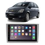"Central Multimídia Chevrolet Meriva 2003 a 2012 First Option 7830 7"" MP5 USB Bluetooth Espelhamento Android SD FM AUX - Gold"