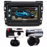 Central Multimidia Dvd Fiat Mobi + Moldura 2 Din + Camera - Multi marcas