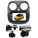 Central Multimidia Dvd Fiat Novo Palio + Moldura 2d + Camera - Multi marcas