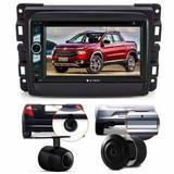Central Multimidia Dvd Fiat Toro + Moldura 2 Din + Camera - Multi marcas