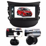 Central Multimidia Dvd Hyundai Hb 20 + Moldura + Camera - Multi marcas