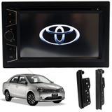 Central Multimídia Dvd Toyota Etios Dvd Espelhamento Logo - Htech