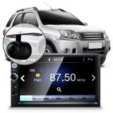 Central Multimídia Ford Ecosport Mp5 Camera Bt Espelhamento Android iOS - Uberparts