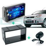 Central Multimídia Mp5 Ford Fiesta 2002 A 2013 Camera Moldura Espelhamento Android iPhone - Uberparts