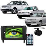 Central Multimídia Mp5 Gol Saveiro G3 05/12 D720BT Moldura Bluetooth Câmera Ré - Exbom