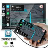 Central Multimídia Mp5 Honda Civic Câmera Espelhamento Android iOS - Uberparts
