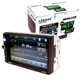 Central Multimídia MP5 Player LB-C19A Leboss Espelhamento Tela 7 Touch Screen Bluetooth Rádio