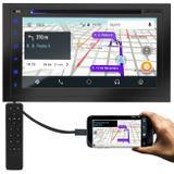 Central Multimídia Multilaser Evolve X 2 Din Espelhamento BT DVD USB Android Auto Apple Carplay IOS
