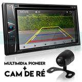 Central Multimídia Pioneer AVH-G218BT Bluetooth Câmera de ré.