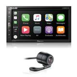 Central Multimídia Pioneer AVH-Z5280TV 6,8 Polegadas DVD Interface Android Iphone TV + Câmera de Ré - Gold