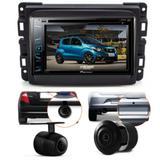 Central Multimidia Pioneer Fiat Mobi + Moldura 2 Din +camera
