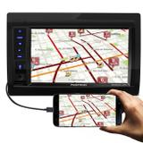 "Central Multimídia Pósitron SP8230 Link 2 Din 6.2"" LCD Bluetooth Espelhamento Android USB SD AUX MP3 - Positron"