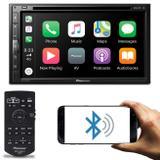 """Central Multimídia Receiver Pioneer AVH-Z5280TV 6.8"""" Bluetooth Espelhamento Android iOS TV DVD MP3"""