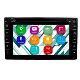 "Central Multimídia Tay Tech T95 Dual Plus Tela Full Touch de 6.2"""