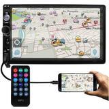 Central Multimídia Universal Mp5 - Espelhamento Android + Câmera