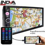 "Central Multimídia Universal TELA DE 7"" Mp5 2din Espelhamento Android - Tiger auto"