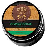 Cera Fixadora Cabelo Barber Jack Clean Fresh 80g - Hiperbeleza