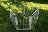 Cercado Cães Canil Pet Cão Cachorro 4/90 Com Portão - Pet útil