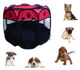 Cercado Casinha Tenda Portátil Dobrável Cães Gatos Pet - Western