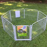 Cercado Para Canil Cães Cachorro 6/90 Com Portão e Kit - Pet util