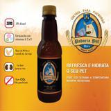 Cerveja para cachorro sabor carne  340Ml - Garrafa pet - Padaria pet
