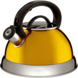 Chaleira Colors 2.8L Aço Inox Boiler Amarela In3121 Euro Home