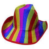 Chapeu Cowboy Kit Com 3 Colorido Festa Carnaval Baile Fantasia (BSL-2544-9) - Braslu