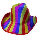 Chapeu Cowboy Kit Com 5 Colorido Festa Carnaval Baile Fantasia (BSL-2544-9) - Braslu