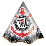 Chapéu de Aniversário Corinthians 08 unidades Festcolor - Festabox