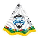 Chapéu de Aniversário Futebol 08 unidades Festcolor