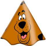 Chapéu de Aniversário Scooby Doo 08 unidades - Festabox
