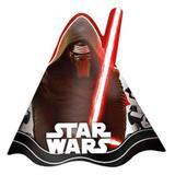 Chapéu de Aniversário Star Wars Episódio VII 08 unidades Regina Festas