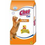 Chef Cat Buffet Para Gatos Adultos - 25KG - Farmina