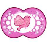 Chupeta Clear Silk Touch Girls - Fase 2 - Pink - MAM