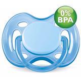 Chupeta Free Flow BPA Free 0-6 Meses Single Pack AZUL Philli - Philips avent
