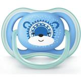 Chupeta Ultra Air Azul Urso 6-18 Meses - Philips Avent