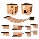 Circuito de Parede Para Gatos Completo - Yan pet