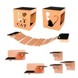 Circuito de Parede Para Gatos Médio - Yan pet