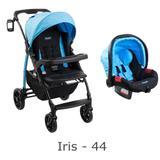 Cj. burigotto modulo pramette+ bebê conforto iris