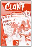 Clan 7 con hola, amigos! 2 cuaderno de actividades - Edinumen