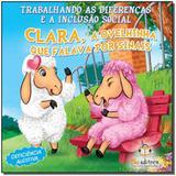 Clara, a ovelhinha que falava por sinais - trabalh - Blu editora