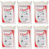 Clean Compressa De Gaze 13 Fios 200g (Kit C/06)