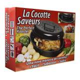 Cocotte Saveurs 4,5 L Kitchen Pro - Preto
