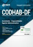 CODHAB-DF Assistente - Especialidade: Agente Administrativo - Nova concursos