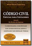 Codigo civil especial para contadores livro ii do direito de empresa - Jurua