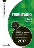 Códigos 3 Em 1 Conjugados - Tributário, Processo Civil e Constituição Federal - 13ª Ed. 2017 - Saraiva